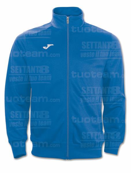 100086 - GIACCA GALA 100% polyester tricot - 700 BLU/BIANCO