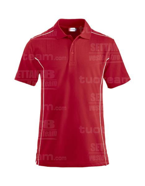 028222 - Polo new Conway - 35 rosso
