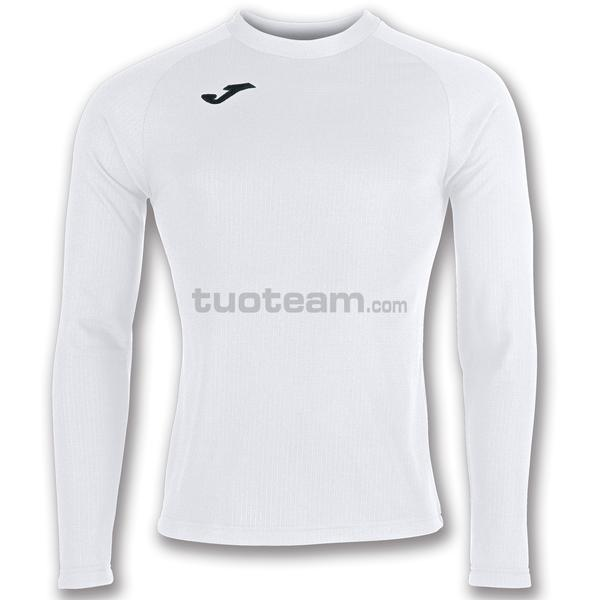 101015 - BRAMA MAGLIA ML 90% polyester fleece 10% elastan - 200 BIANCO
