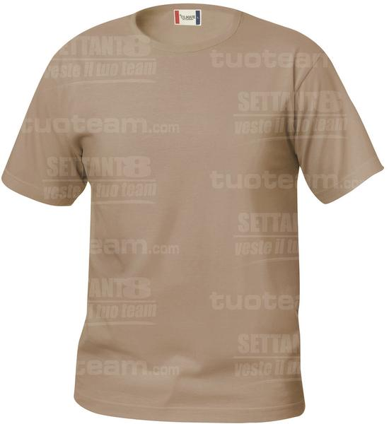 029032 - T-SHIRT Basic T Junior - 820 caffe latte