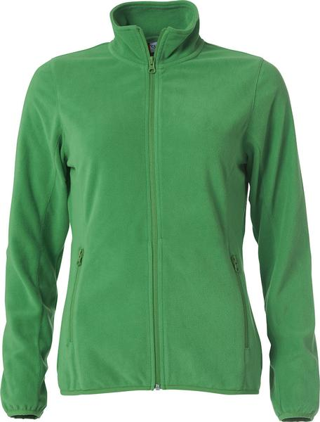 023915 - Basic Micro Fleece Jacket Lady - 605 verde acido