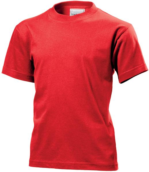 ST2200 - Classic Maglia Bambino G/C M/C 100% Cot 155 gr/m2 - Scarlet Red