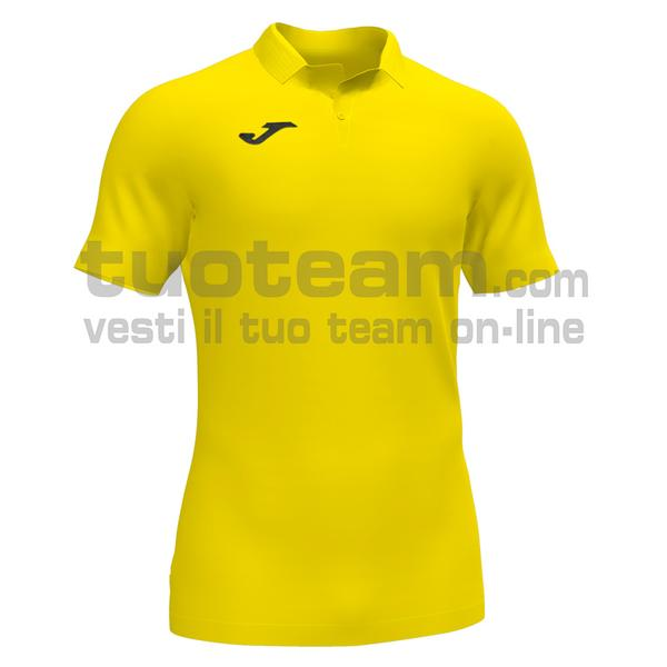 101473 - GOLD II MAGLIA MC 92% recycled polyester-8% spandex - 900 GIALLO