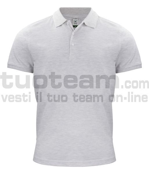 028264 - Organic Cotton Polo - melange naturale