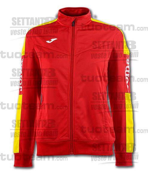 900380 - CHAMPIONSHIP IV WOMAN GIACCA TRICOT - 609 ROSSO/GIALLO