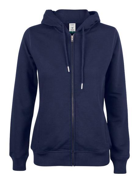 021005 - Premium O.C. Hoody Full Zip Lady - 580 blu navy