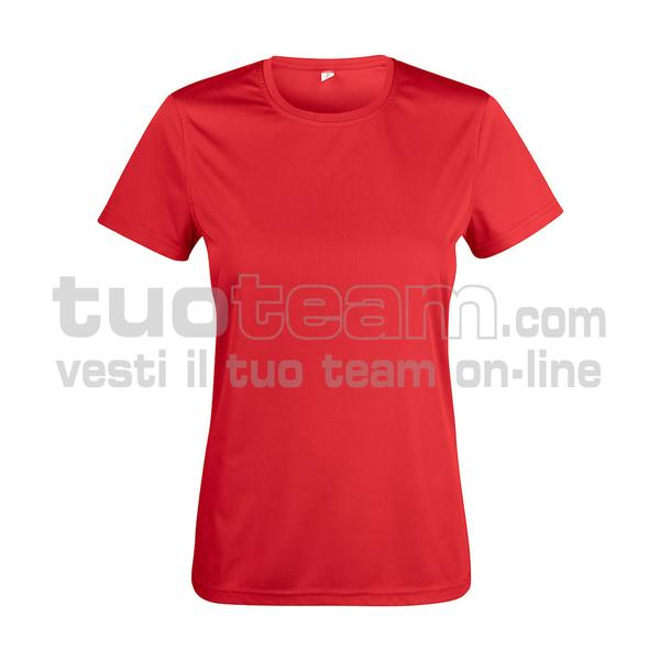029039 - Basic Active-T Ladies - 35 rosso