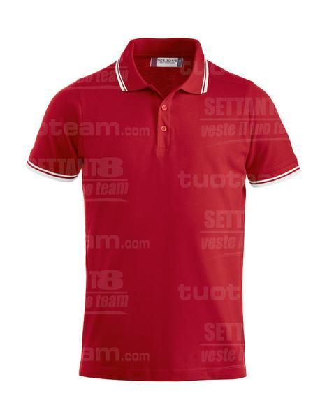 028219 - POLO Amarillo - 35 rosso
