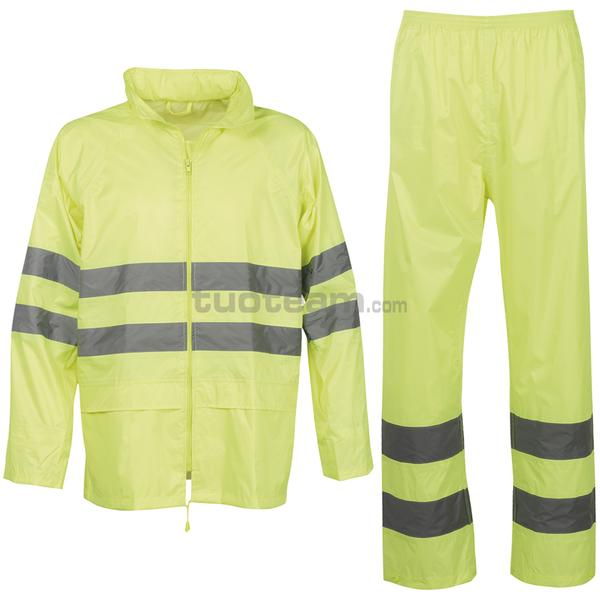 HI-VI RAINSET - HI-VI RAINSET - GIALLO FLUO