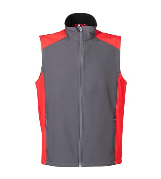 99433 - Gilet Campiglio - GREY/RED
