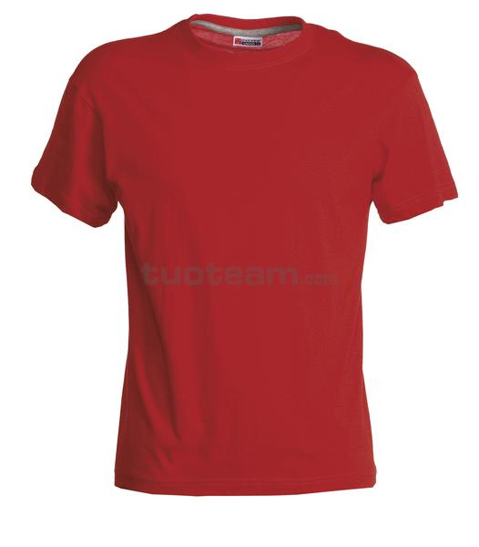 SAND - T-SHIRT SAND - ROSSO