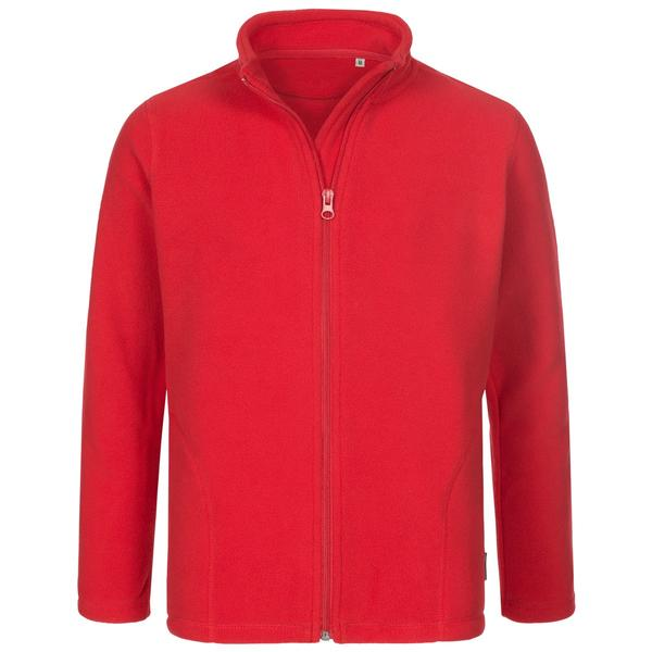 ST5170 - Active Bambino Pile Jacket 100% Poly 220 gr/m2