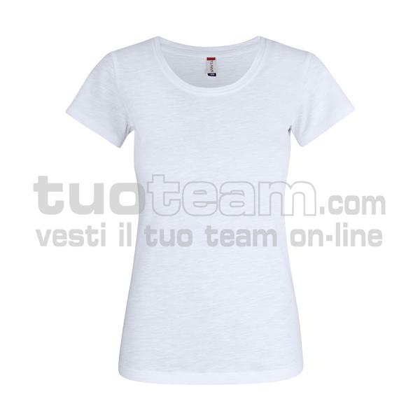 029353 - Slub-T Ladies - 00 bianco