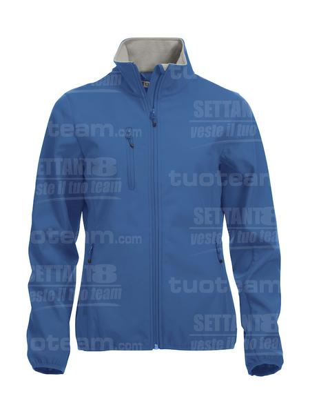 020915 - GIACCA Basic Softshell Jacket Ladies - 55 royal