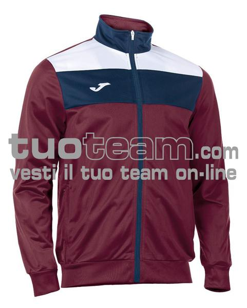 100225 - GIACCA TRICOT CREW - 650 BORDEAUX/BIANCO/BLU NAVY