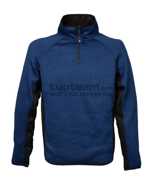 99445 - Knitted Fleece Maribor - BLUE