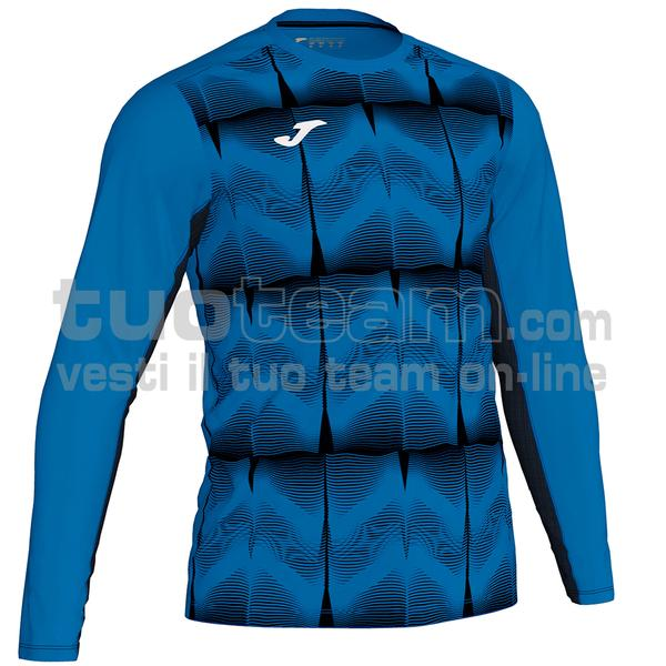 101301 - DERBY MAGLIA ML 100% polyester interlock sublimato - 721 BLU