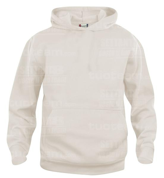021021 - FELPA Basic Hoody Junior - 815 beige