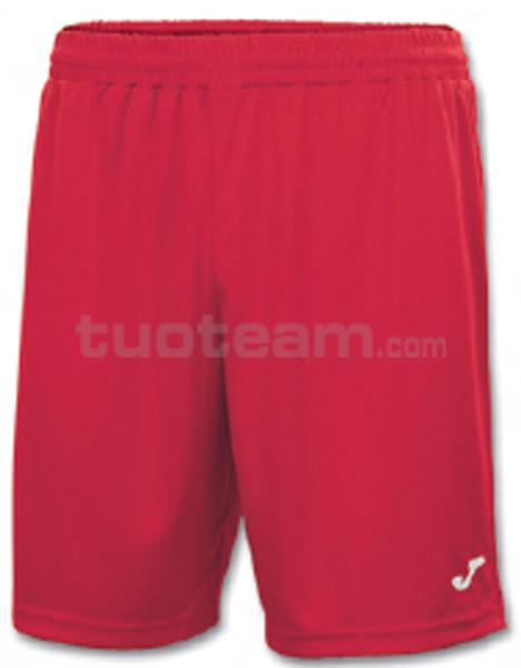 100053 - NOBEL SHORT 100% polyester interlock - 600 ROSSO