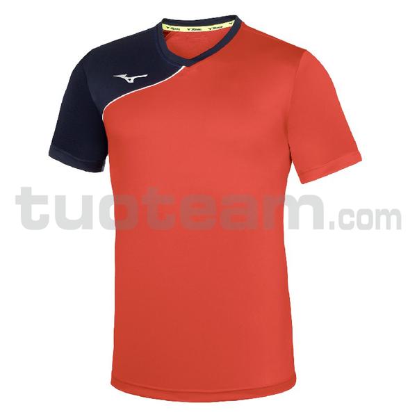 P2EA7630 - Trad Shukyu shirt m/c - Red/Red