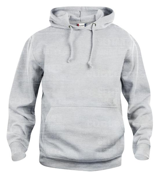 021031 - FELPA Basic Hoody - 92 grigio cenere