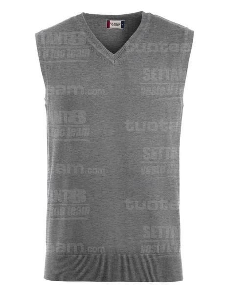 021175 - GILET Adrian - 95 grigio melange