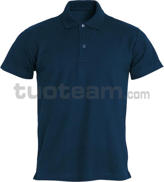 028230 - polo basic - 580 blu
