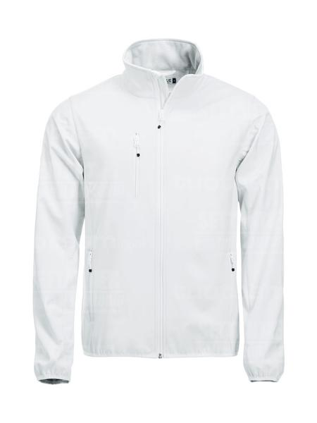 020910 - GIACCA Basic Softshell Jacket Men - 00 bianco