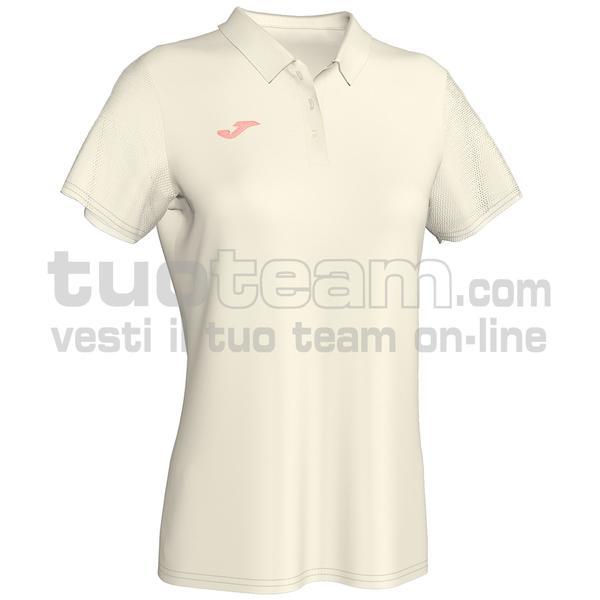 900879 - POLO 80% cotton 20% elastan - 224 BIANCO PANNA