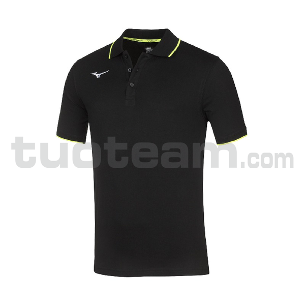 32EA7041 - TEAM MIZUNO POLO - Black/Black