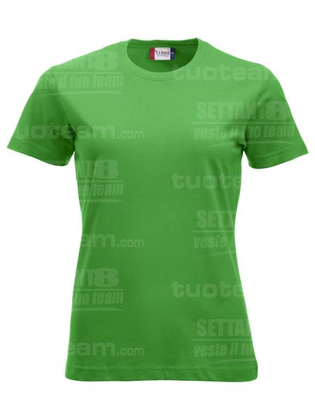 029361 - T-SHIRT New Classic T Lady - 605 verde acido