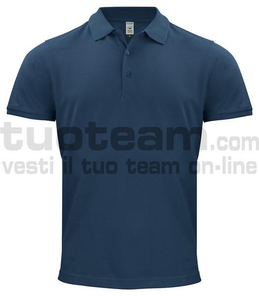 028264 - Organic Cotton Polo - 580 blu navy
