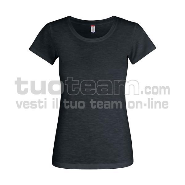 029353 - Slub-T Ladies - 99 nero