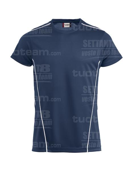 029336 - T-SHIRT Ice Sport-T - 5800 navy/bianco