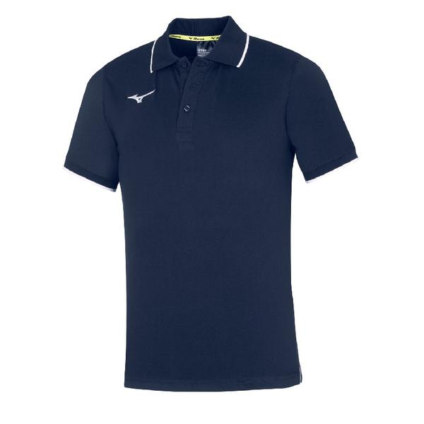 32EA8901 - MIZUNO POLO JR - Navy/White
