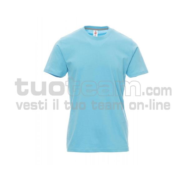 SUNRISE - SUNRISE t shirt - BLU ATOLLO