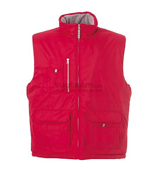 98948 - Gilet New Madrid - ROSSO