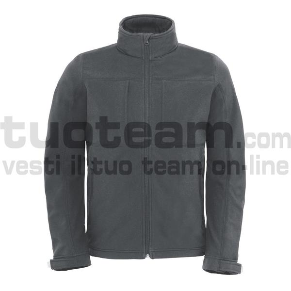 CJM950 - Hooded Softshell Jacket - Dark Grey