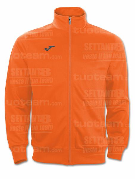 100086 - GIACCA GALA 100% polyester tricot - 800 ARANCIO/BIANCO