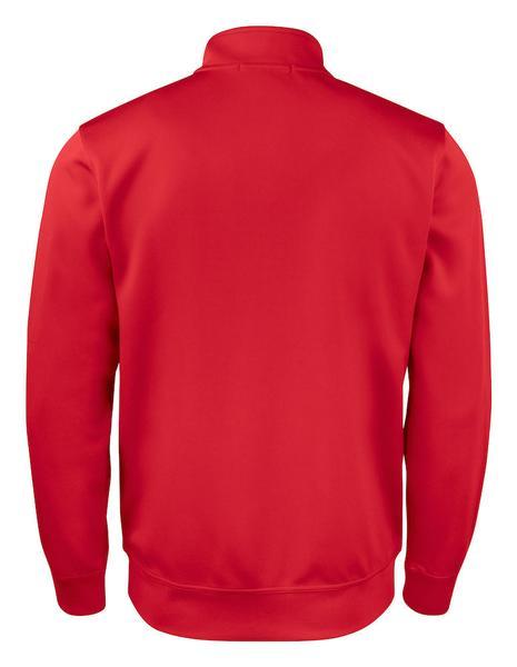 021016 - Basic Active Cardigan - 35 rosso