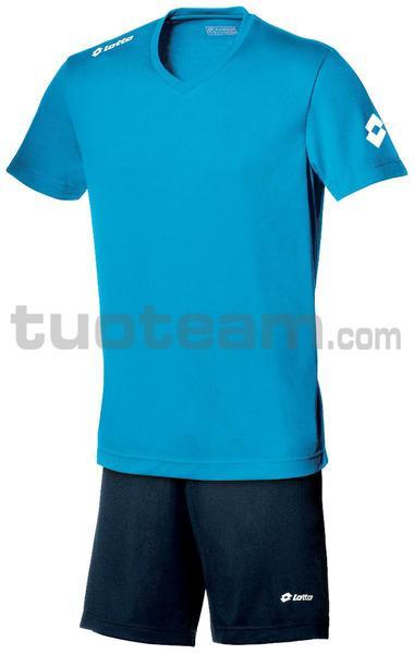 Q8525 - MAGLIA TEAM EVO M/L azzurro