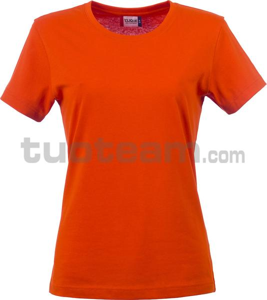 029031 - Basic-T T-SHIRT Lady - 18 arancione