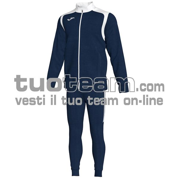 101267 - TUTA 100% polyester interlock - 332 DARK NAVY / BIANCO