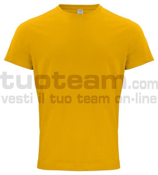 029364 - Organic Cotton T-shirt - 10 giallo limone