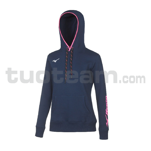32EC7208 - TEAM SWEAT HOODIE WOS - Navy/White