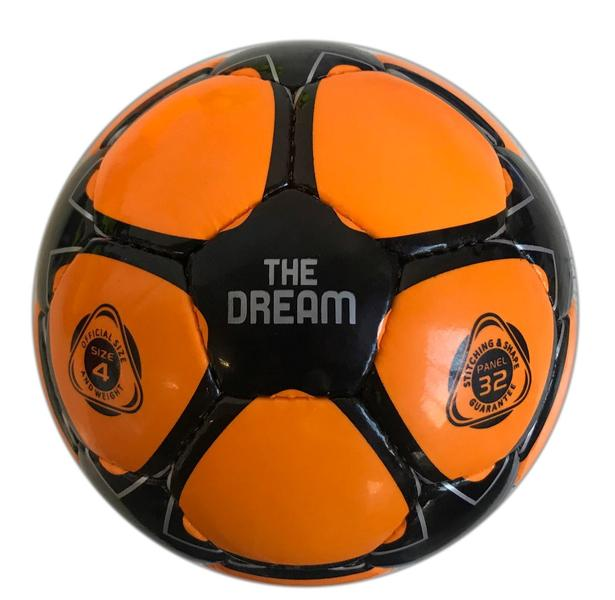 780201 - PALLONE THE DREAM - ARANCIONE FLUO / NERO
