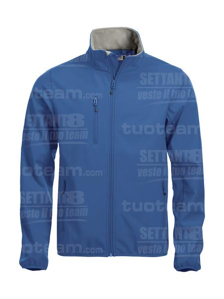 020910 - GIACCA Basic Softshell Jacket Men - 55 royal