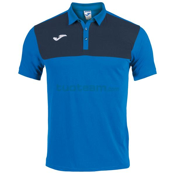 101108 - WINNER II POLO WINNER MC 65% polyester 35% cotton - 703 ROYAL / DARK NAVY