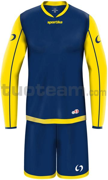 7316M - set ARSENAL - BLU / GIALLO