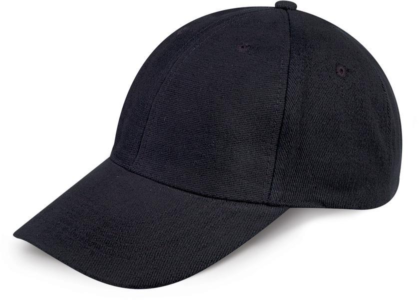 K18063 - CAPPELLINO 6 PANNELLI / 6 PANELS CAP - NERO